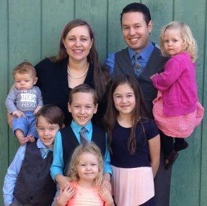 Scott LaPierre and family