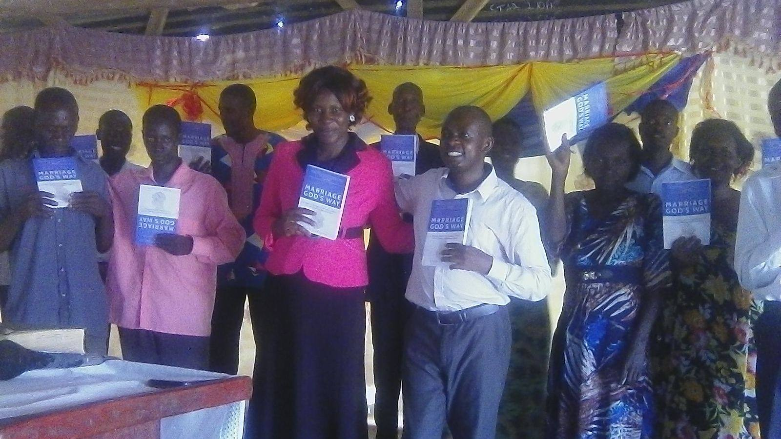 Hope Initiatives Ministries receives copies of Marriage God's Way