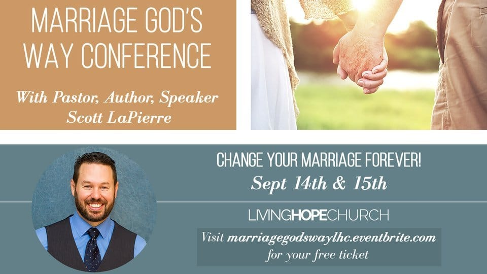 Marriage God's Way Conference Banner