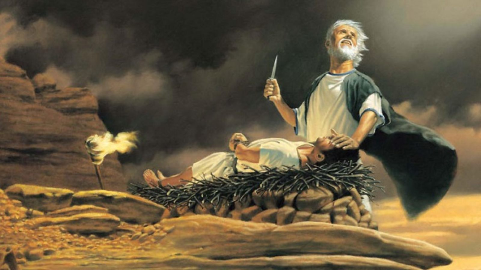 Jesus and Isaac's Submission to Their Fathers