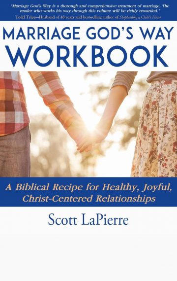Marriage God's Way Workbook front cover