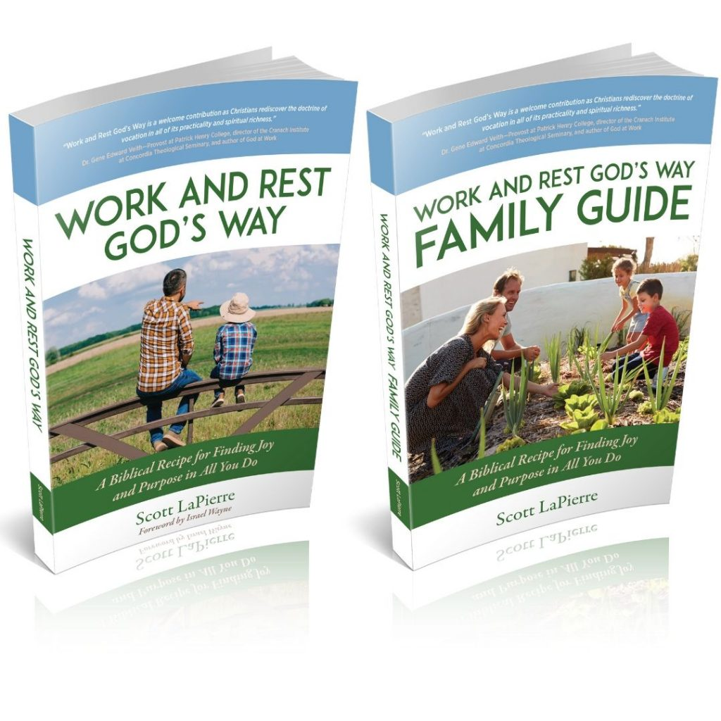 Work and Rest God's Way book and guide by Scott LaPierre