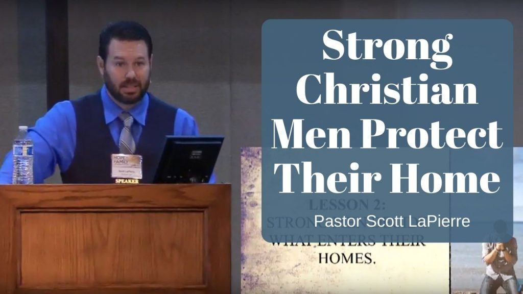 Strong Christian Men Protect Their Home from Enemies that Seek to Destroy Their Wife and Children