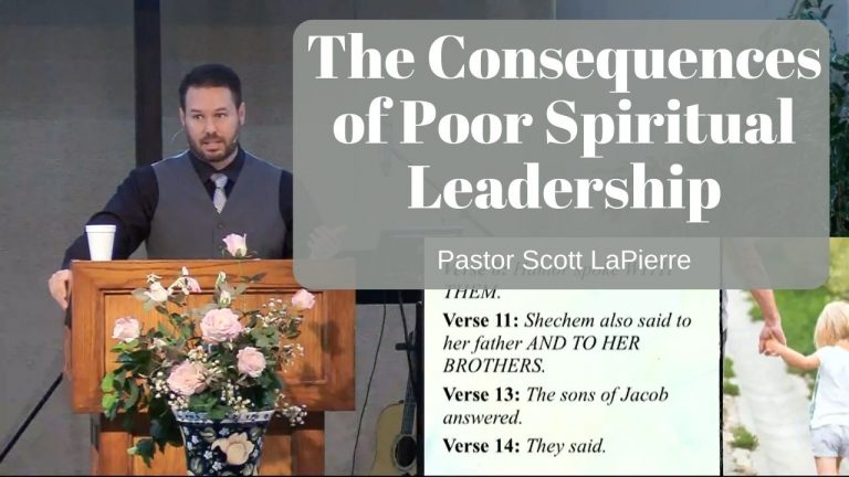 The Consequences of Poor Spiritual Leadership