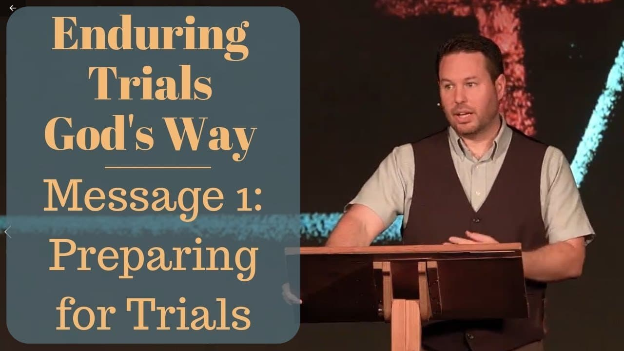When You Fall Into Various Trials and How You Can Prepare for Them
