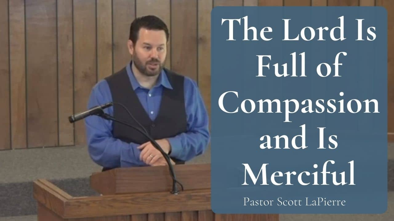The Lord Is Full of Compassion and Is Merciful to Job and to Us