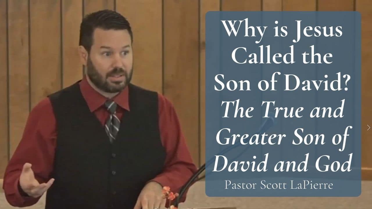 Why is Jesus Called the Son of David The True and Greater Son of David and God (2 Samuel 713-15)